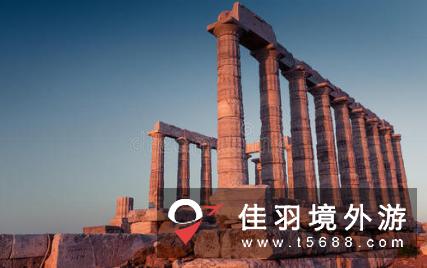 希腊苏尼翁角波塞冬神殿