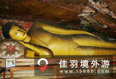 斯里兰卡著名佛教寺窟,丹布勒石窟旅游攻略